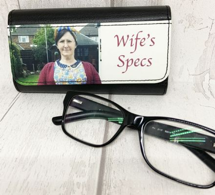 Personalised Glasses, Spectacle, or Sunglasses Case
